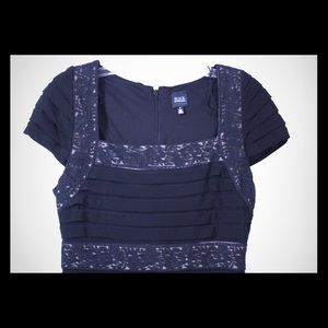 Saks Fifth Avenue Blavk Label sz6 Dress